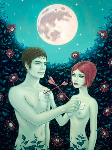 Bunny_in_the_moon-tara_mcpherson-gicle_digital_print-trampt-91605m