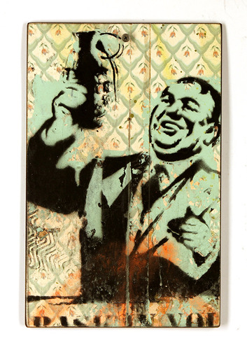 Smiling_charlie_thoughtcrime-bask-hand-painted_multiples_on_wood-trampt-93054m