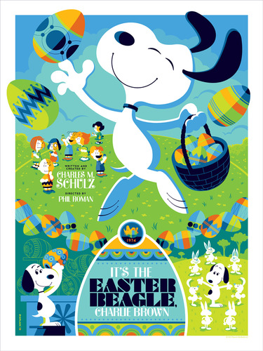 Its_the_easter_beagle_charlie_brown-tom_whalen-screenprint-trampt-93471m