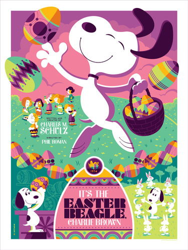 Its_the_easter_beagle_charlie_brown_-_variant-tom_whalen-screenprint-trampt-93472m