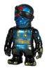 Ryusei Ninja - Black with Blue Spray