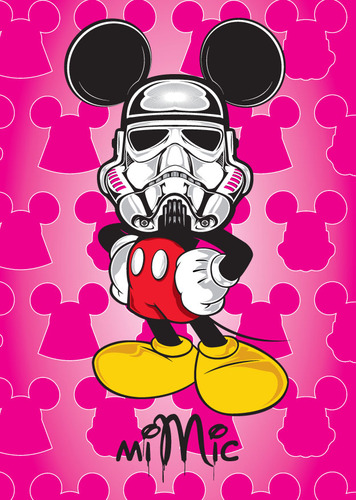 Mickey_trooper_-_pink_variant-mimic-gicle_digital_print-trampt-94928m