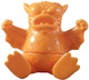 Sitting Mini Greasebat -  Creamsicle Orange