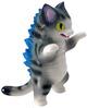 Kaiju_negora_-_grey_stripe-tttoy_konatsu-kaiju_negora-max_toy_company-trampt-95461t
