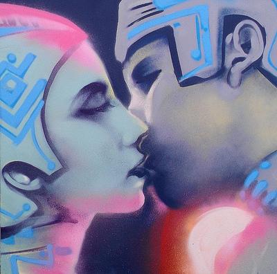 Tron_kiss-mike_tyau-mixed_media-trampt-96174m