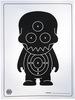 Tongueless Gohst Target Print - Black