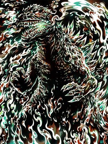 Cmykaiju-miles_tsang-screenprint-trampt-97450m