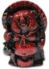 Mini Tanuki - Red Lamé