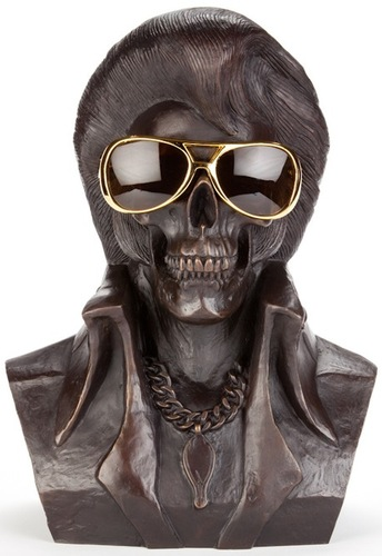The_king_is_dead-frank_kozik-bronze-trampt-99055m