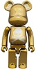 Mastermind Japan Be@rbrick - Gold (100%)