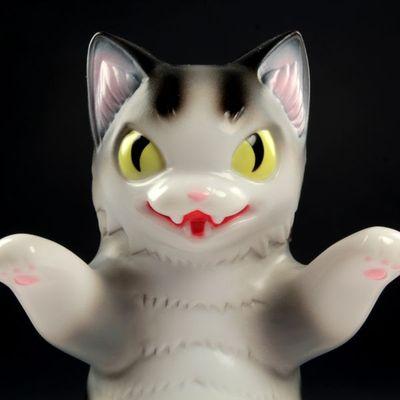Kaiju_negora_-_grey_stripe-tttoy_konatsu-kaiju_negora-max_toy_company-trampt-99114m