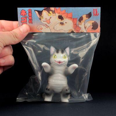 Kaiju_negora_-_grey_stripe-tttoy_konatsu-kaiju_negora-max_toy_company-trampt-99115m