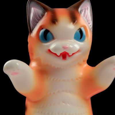 Kaiju_negora_-_brown_stripe-tttoy_konatsu-kaiju_negora-max_toy_company-trampt-99117m