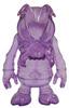 Skull Bee - Clear Purple