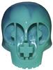 Paper + Plastick Skull - Pentimento Variant (Ocean)