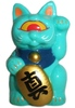 Mini Fortune Cat - Mint