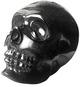 Hasadhu Shingon Skull - Clear Black Glitter