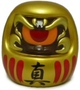 Fortune Daruma - Gold/Red