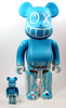 Isetan 120th anniversary Andre 100+400% Be@rbrick