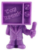 Toy Break Mascot - Purple