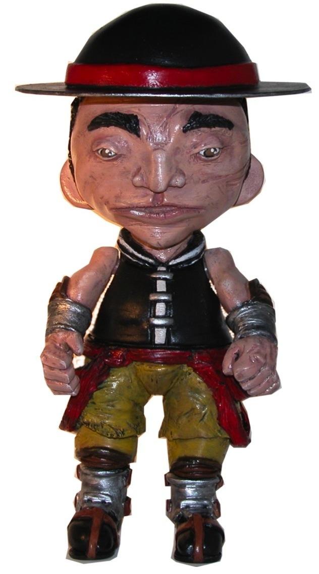 Mortal Kombat Kung Lao Munny By Tibong Trampt Library