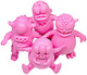 Greasebat Gummi Play Set - Pink