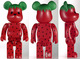 levi's x clot strawberry be@rbrick 100%
