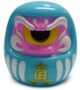 Fortune Daruma - Blue/Pink w/ Yellow Eye