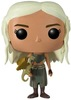 Game of Thrones - Daenerys Targaryen with Gold Dragon