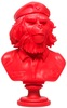 Rebel Ape Bust - Red