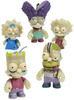 The Simpsons : GID Zombie Family (5-Pack)
