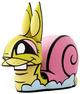 Chaos Minis - Snail Bunny