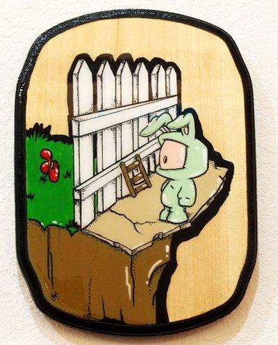 Its_always_greener-juan_muniz-wood-trampt-116709m