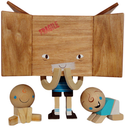 Box_boy_and_the_babies-gary_ham-wood-trampt-117863m