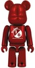 Project 1/6 Be@rbrick - Metallic Red (1/6)