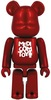 Project 1/6 Be@rbrick - Metallic Red (Medicom Toy)