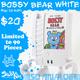 Bossy Bear White