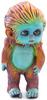 Little Bigfoot - Orange with Blue Face
