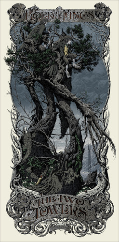 Lord_of_the_rings__the_two_towers_regular-aaron_horkey-screenprint-trampt-122402m
