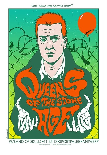 Queens_of_the_stone_age_-_antwerp_belgium_2013_variant-jermaine_rogers-screenprint-trampt-123360m