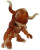 Skull Viking Zombie - Clear Brown