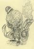 Ooze Skull Study 001 Sketch