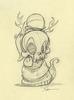 Wandering Misfits: Heathen Snake Sketch