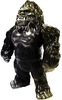 Bigfoot - Black with Gold Sprays