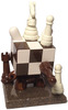 Chess Head: Wood/ Ivory Edition