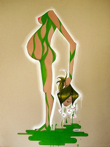 Mother_nature-ajee-acrylic_paint_on_cardboard-trampt-127226m