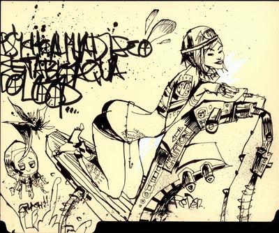 Sub_girl_underwater_boogie-jim_mahfood-mixed_media-trampt-128807m