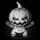 Pumpkinhead Dunny custom