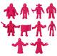 S.U.C.K.L.E. - Pink (10 Figure Set)
