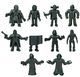 S.U.C.K.L.E. - Black (10 Figure Set)